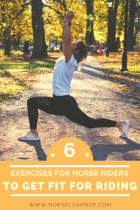 How to get in shape for horse riding